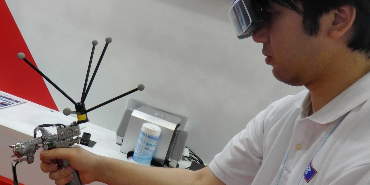 Asahi Electronics Looks to Develop New Markets for Painting, Welding VR/AR Training Systems