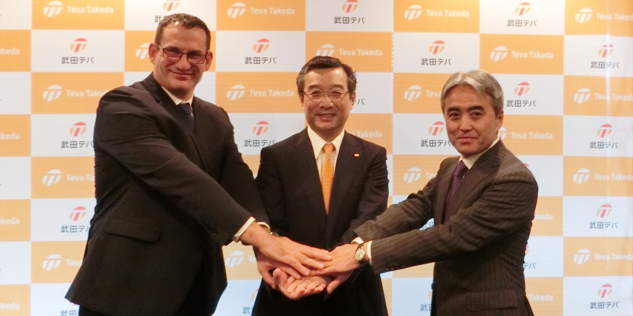 Teva Takeda Pharma Sets Sights on Leading Japan's Off-patent Drug Market