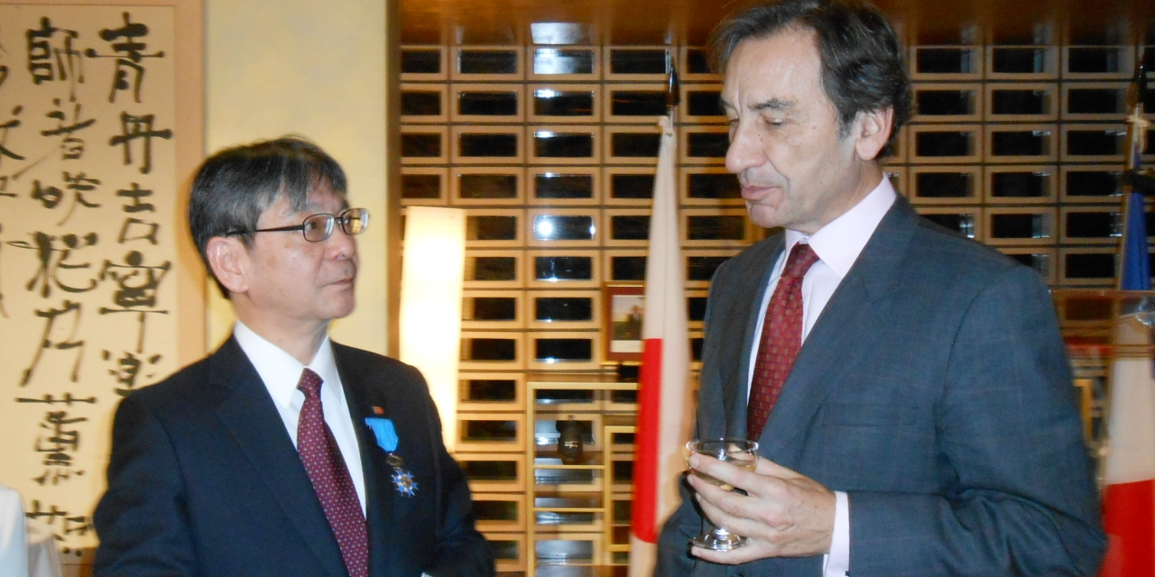 Takasago International President Knighted With French Legion of Honour Award