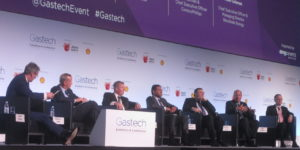 Major Energy Company Representatives Discuss LNG Oversupply at Gastech Japan