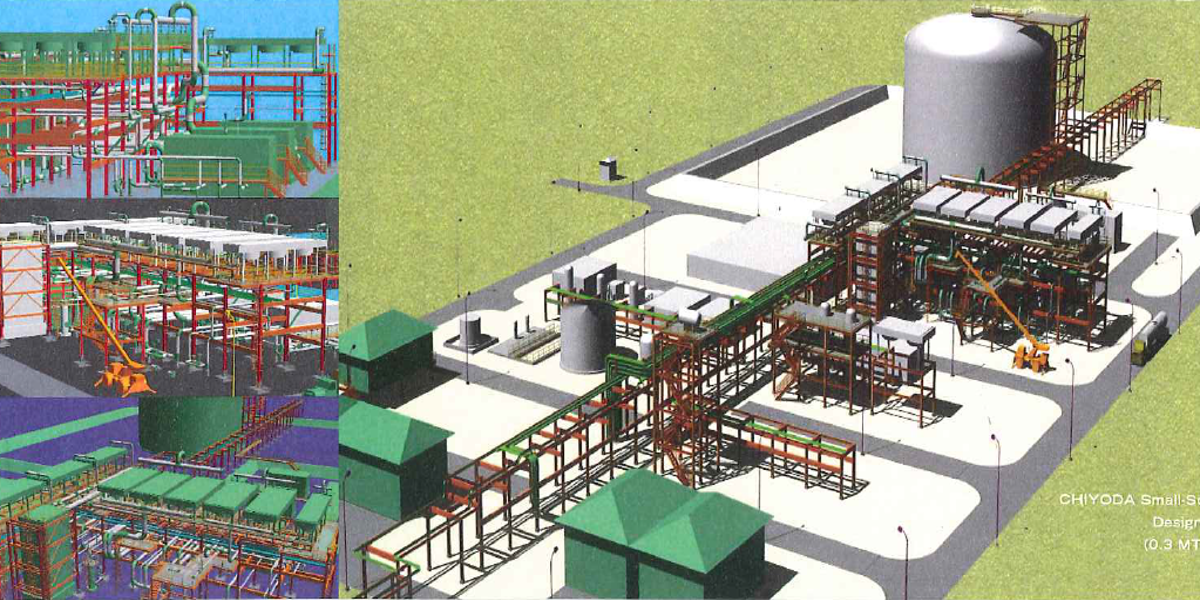 Chiyoda Enables LNG Plants to Reduce Costs With New Standardized Production Designs