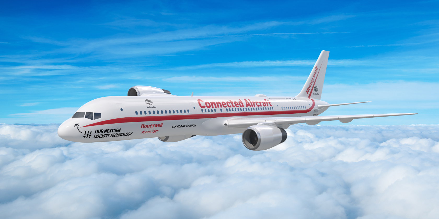 Honeywell Connects Aircraft to IoT With Satellite Wi-Fi