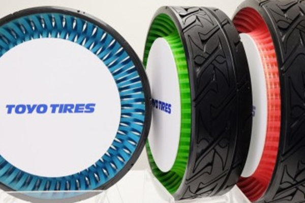 Airless Tire Development Competition Heats up Among Japanese Tire Manufacturers