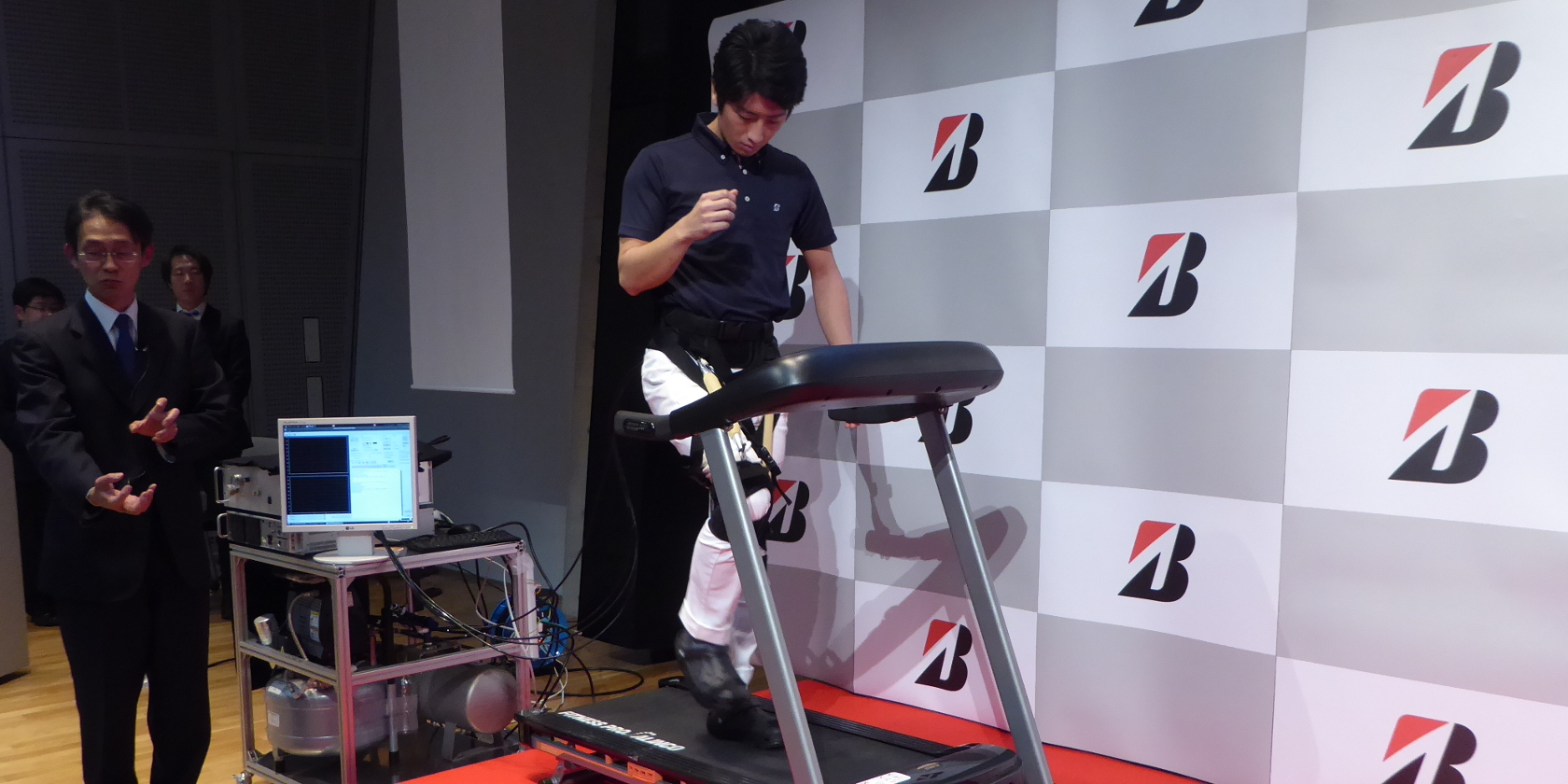 Bridgestone Develops Walking Trainer With Rubber Artificial Muscles