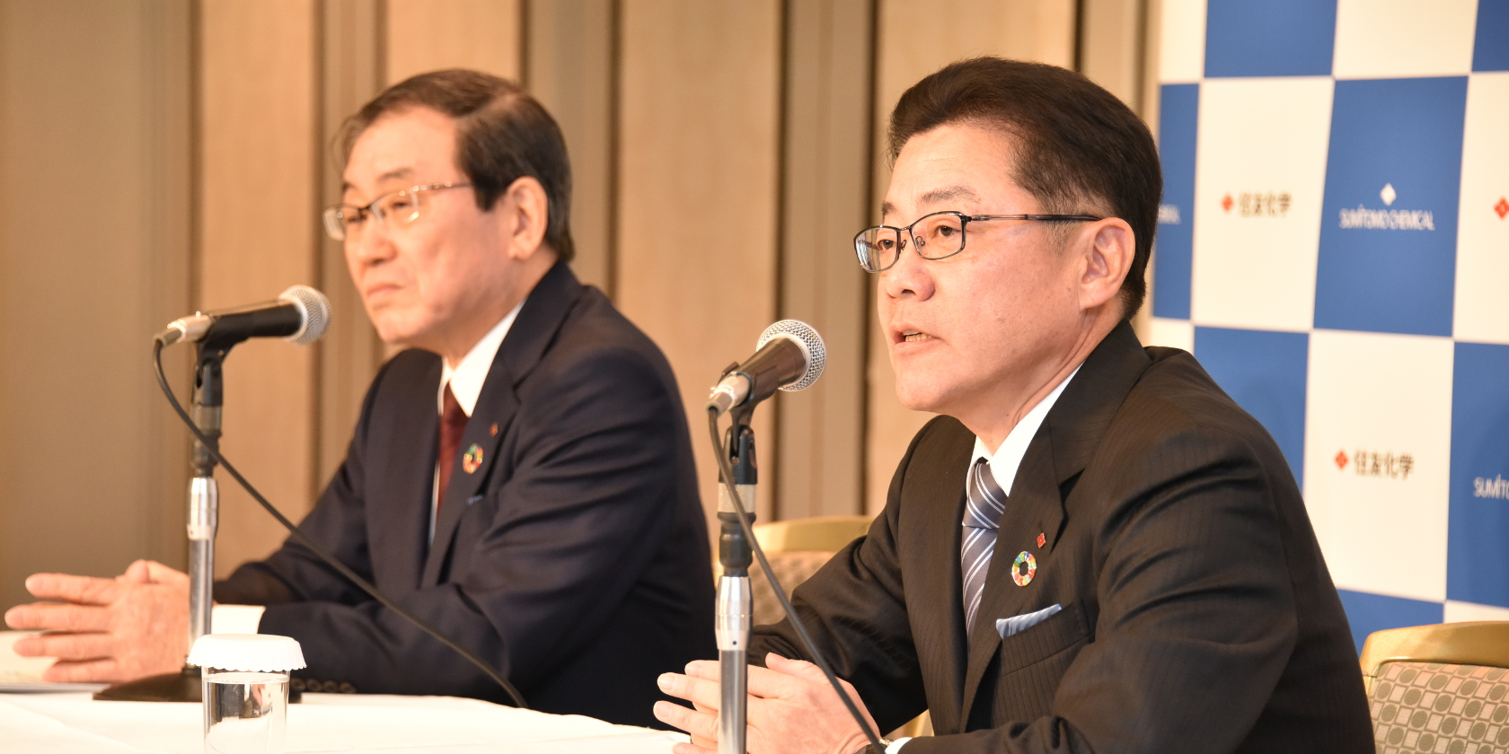 Sumitomo Chemical Points to the Future With Changing of the Guard