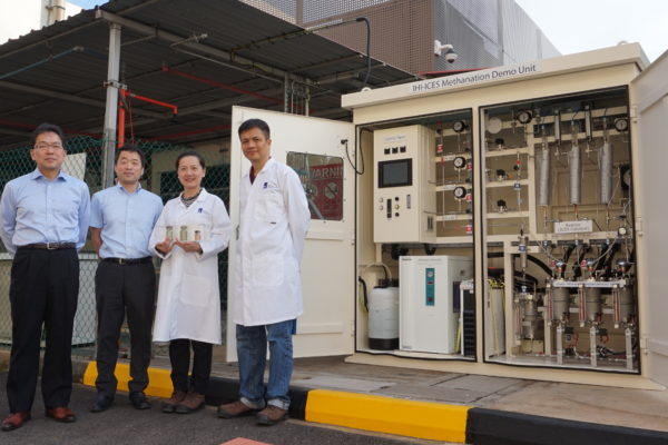 IHI, Singapore's ICES Synthesize Methane From CO2 and Hydrogen