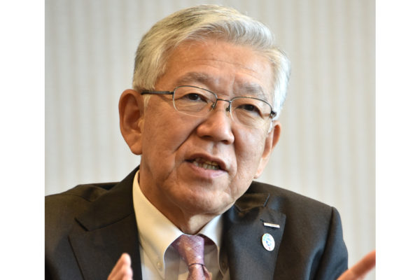 Interview: Asahi Kasei President Hideki Kobori Talks Nobel Prize, Approaches to Innovation