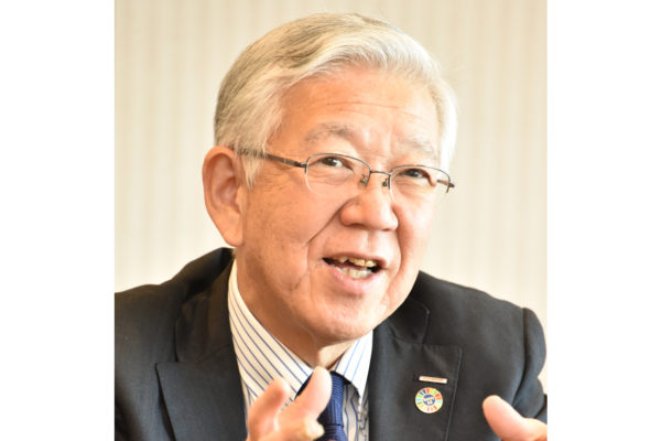 Interview: Asahi Kasei President Hideki Kobori Talks Shifting Global Business Landscape, Company Structure and Sustainability