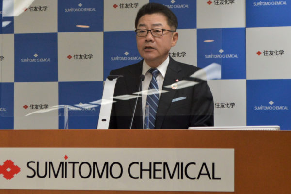 Sumitomo Chemical President Keiichi Iwata Lays out Plan to Get Core Operating Income to 280B Yen