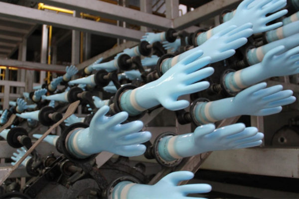 UPDATED : COVID-19 Delays Restart to Rubber Glove Production at Global Leader Top Glove