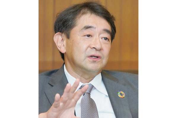 Mitsui Chemicals President Osamu Hashimoto Looks to Restructure Company's Business Model